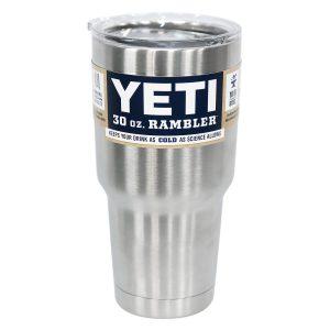YETI RAMBLER STAINLESS STEEL 30OZ. TUMBLER
