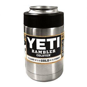 YETI RAMBLER STAINLESS STEEL 12OZ. COLSTER